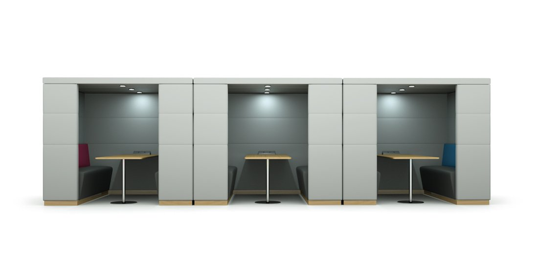 Citrus Seating Dinah Booth Seating Booths with Dividing Walls
