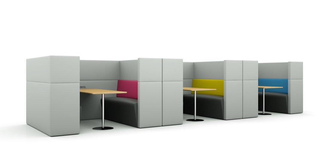 Citrus Seating Dinah Booth Seating Canteen Furniture