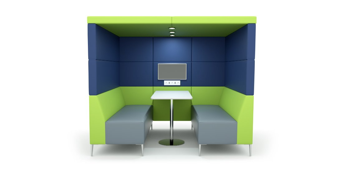 Citrus Seating Frank Booth Seating Booth Office Pods