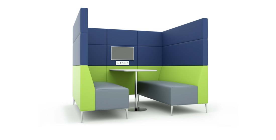 Citrus Seating Frank Booth Seating Pod Office Booths