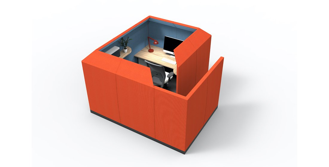 Citrus Seating Luna office pod