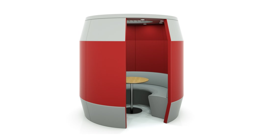 Citrus Seating Ringo Office Booth Soft Seating