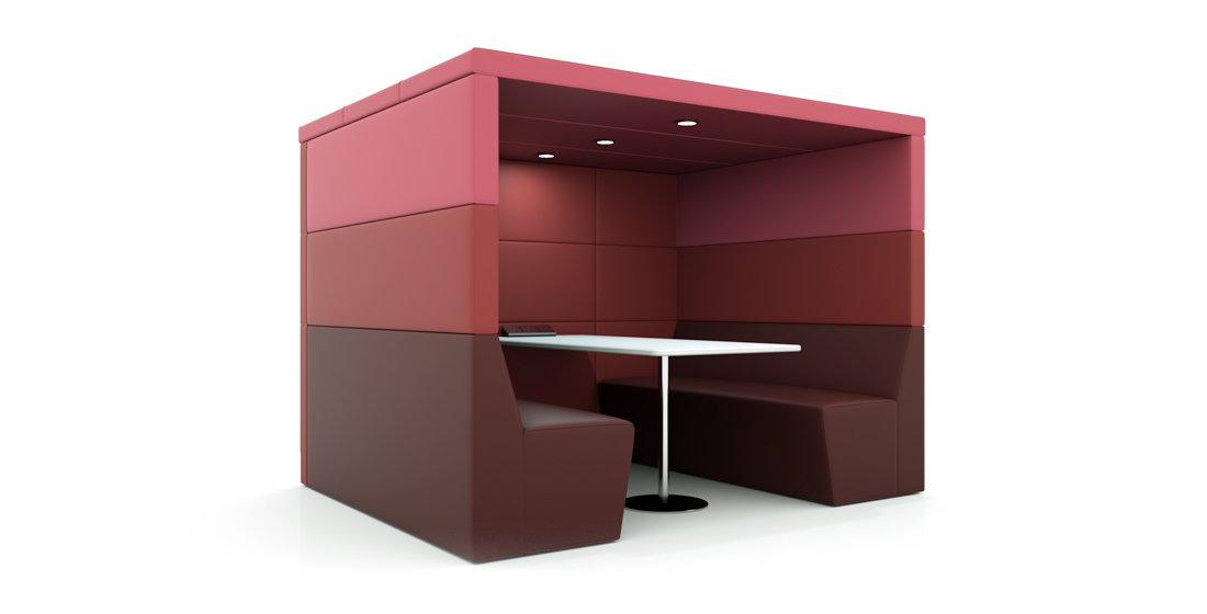 Citrus Office Pod Seating