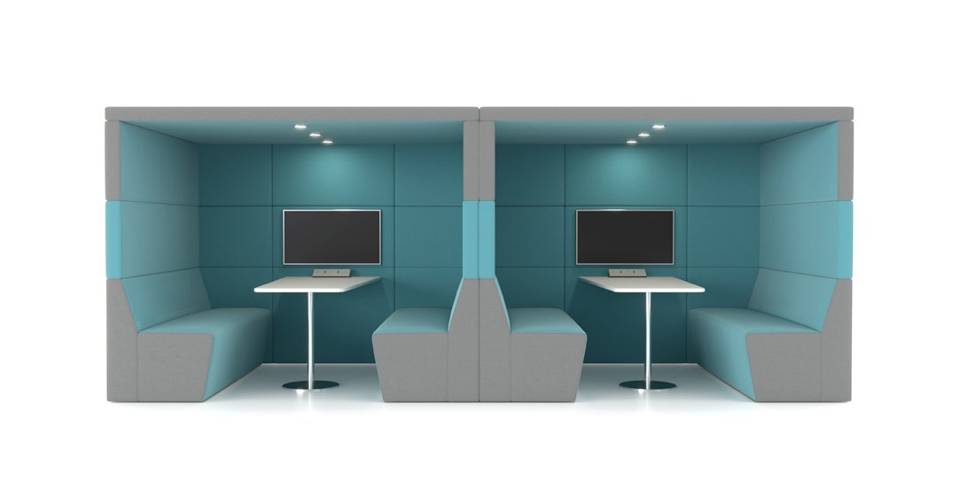 Citrus Seating - Shelton Office Booths