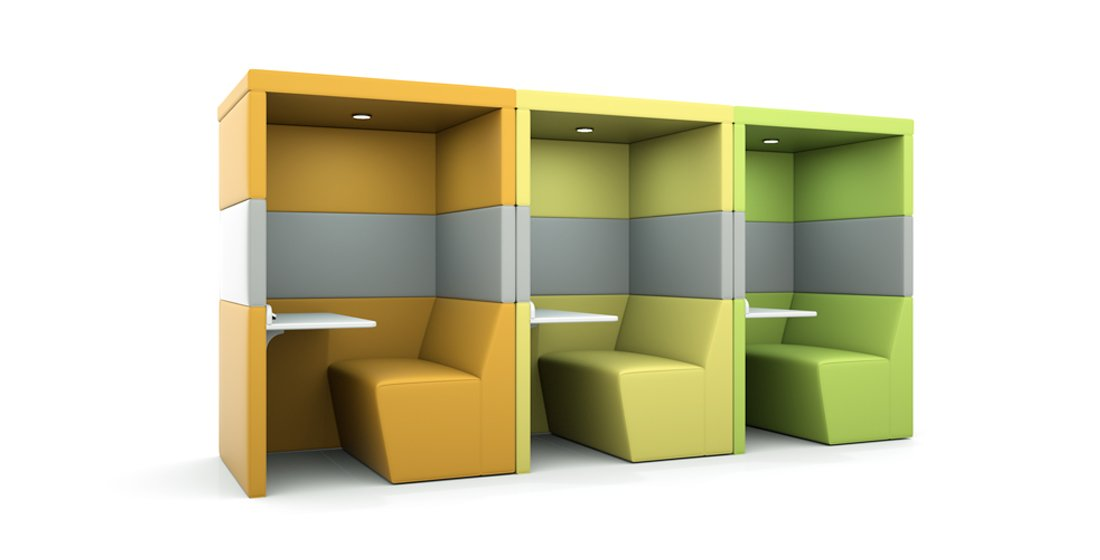 Citrus Seating Shelton Pod Solo Work Space