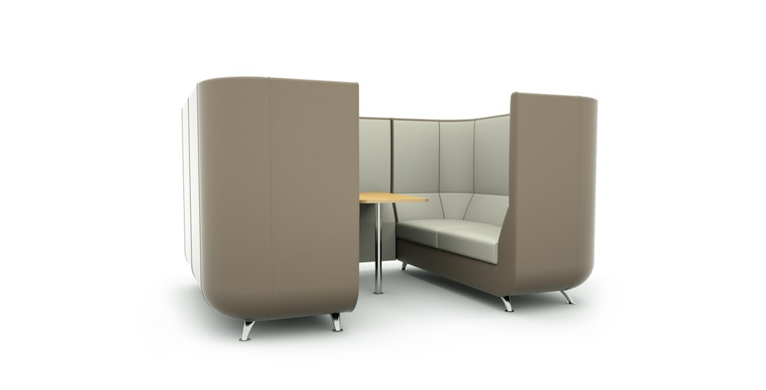 Citrus Seating Unity Booths and Pods Seating Systems