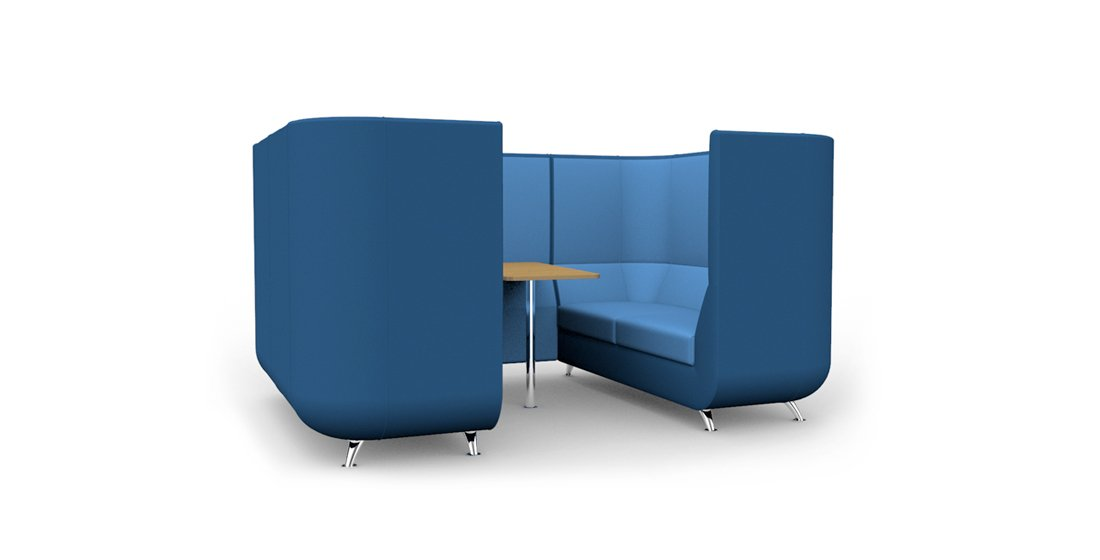 Citrus Seating Unity Booth Office Seating Booth