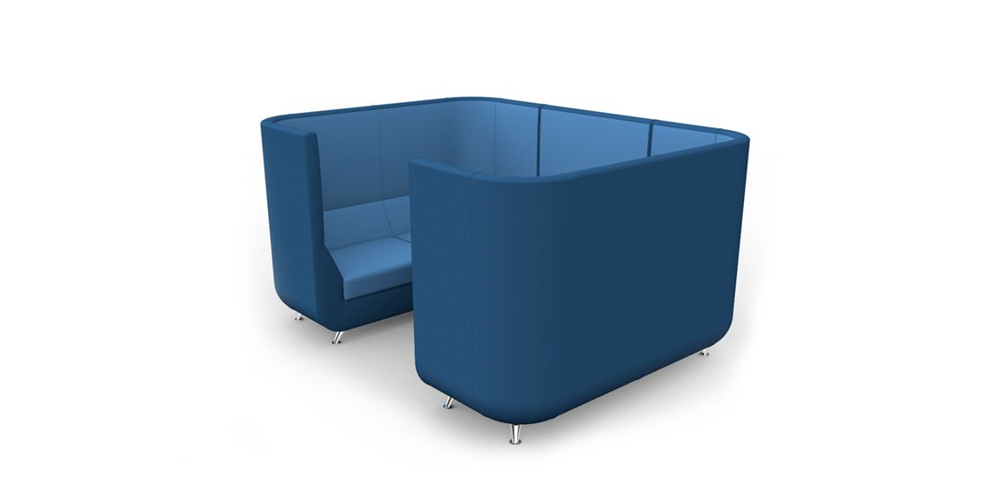 Citrus Seating Unity Booth Modular Office Seating