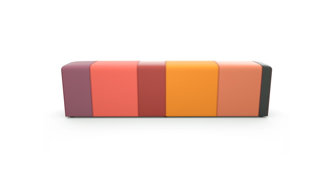 Citrus Seating Anthony Bench Modular Reception Seating Systems