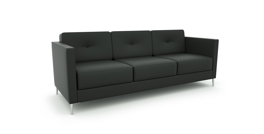 Citrus Seating Bruce Three Seater Sofa Soft Seating Office Solutions