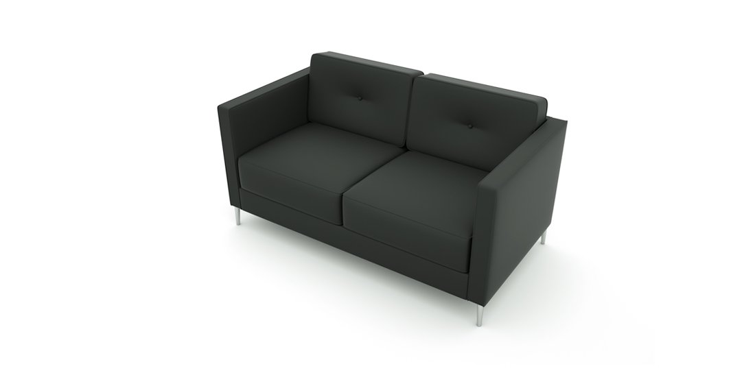 Citrus Seating Bruce Two Seater Sofa Soft Seating Office Solutions