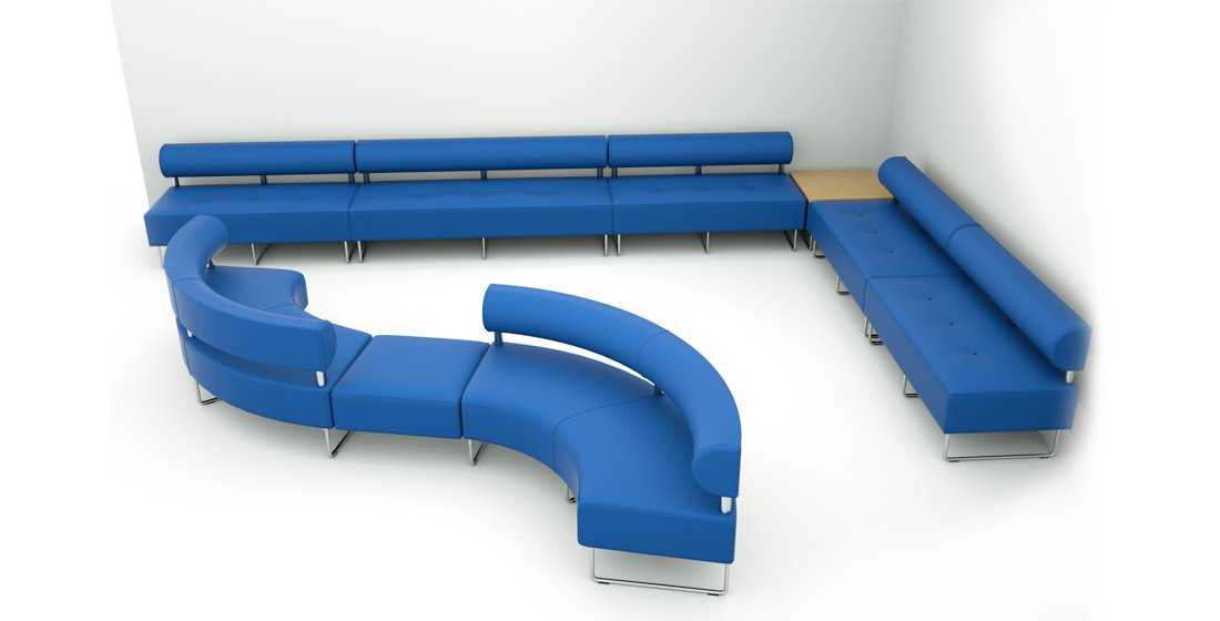 Citrus Seating Constance Medical - seating designed for the medical sector, with raised backs to enable deep cleaning