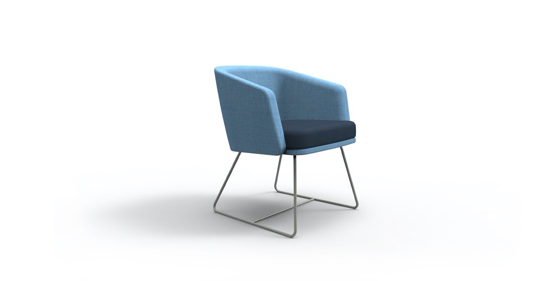Citrus Seating Emma chair blue