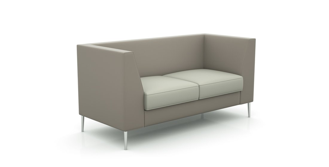 Citrus Seating Francis Two Seat Sofa Office Seating