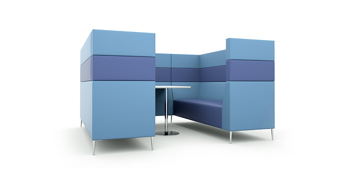 Citrus Seating Frank Modular Seating Booth Office Pod Furniture
