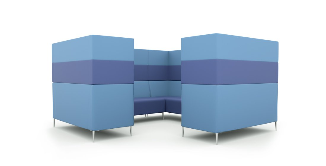 Citrus Seating Modular Seating Frank Booth Office Pod Furniture