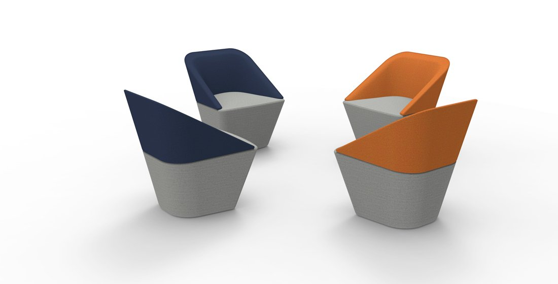 Citrus Seating George tub chairs group