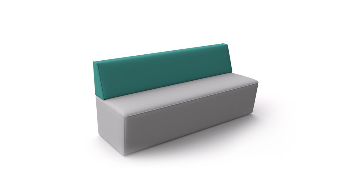 Citrus Seating Harry Bench Modular Office Soft Seating System