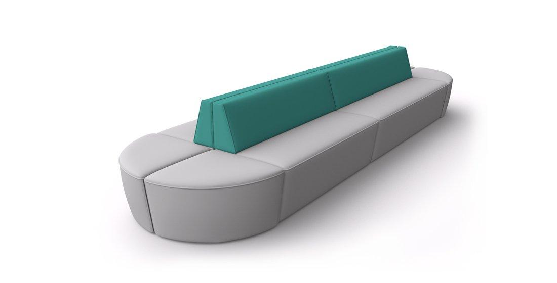 Citrus Seating Harry Modular Bench Soft Seating Reception Furniture