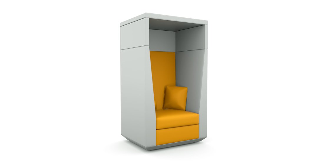 Citrus Seating James 1 person high-backed booth chair