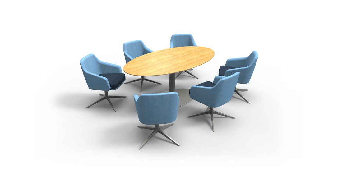 Citrus Seating Jay Office Meeting Chairs Soft Seating