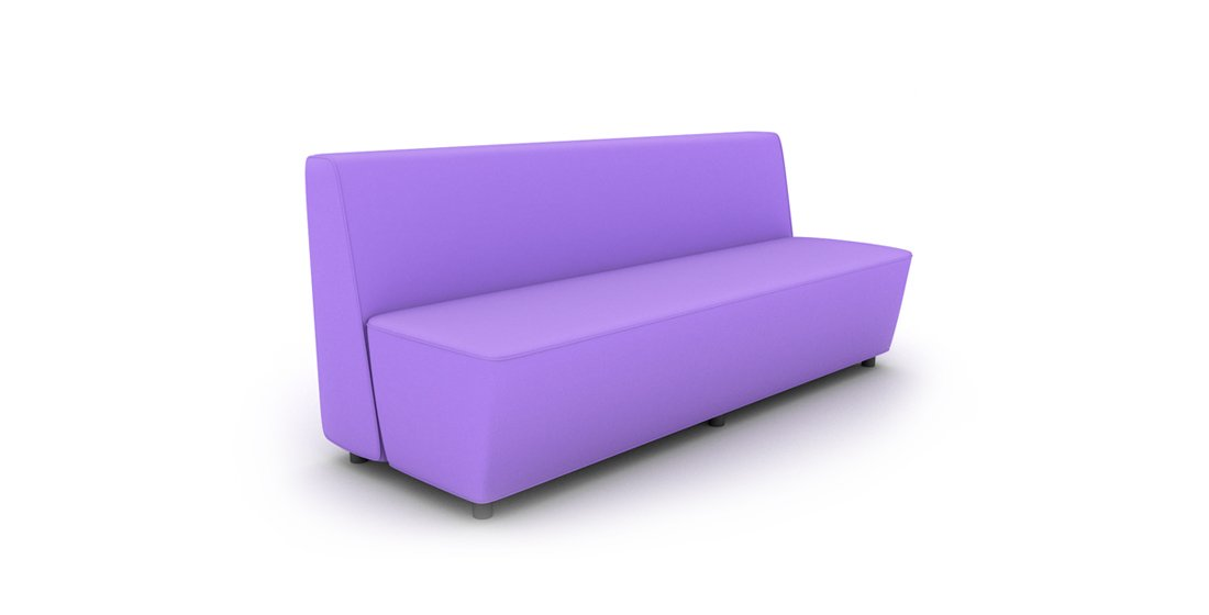 Citrus Seating Kitty Bench Office Soft Seating Reception Furniture