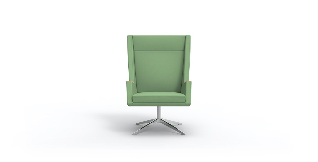 Citrus Seating Leo office chair on swivel base