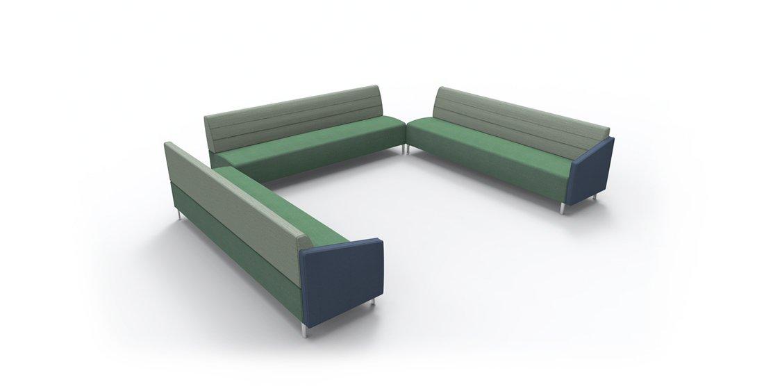 Citrus Seating Linus Bench Sofa Soft Seating