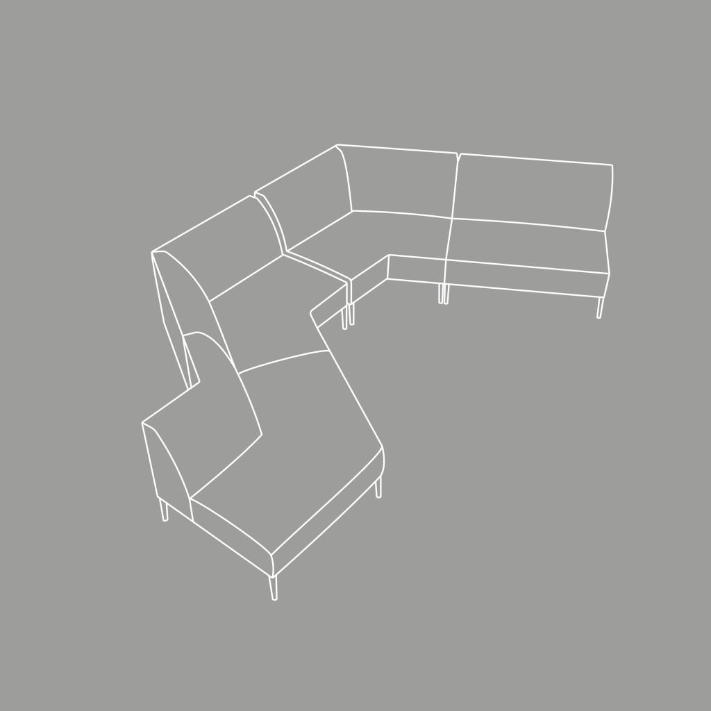 Citrus Seating Modular Soft Seating