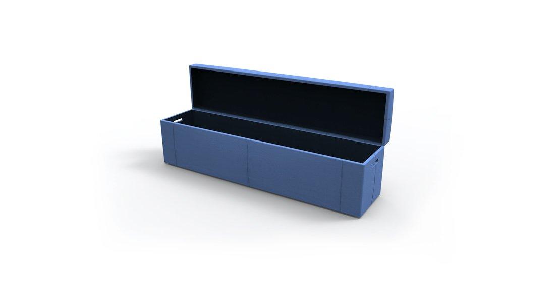 Citrus Seating Pandora Bench with Storage