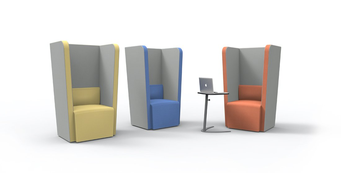 Citrus Seating Penelope High Back Chair Office Soft Seating Systems