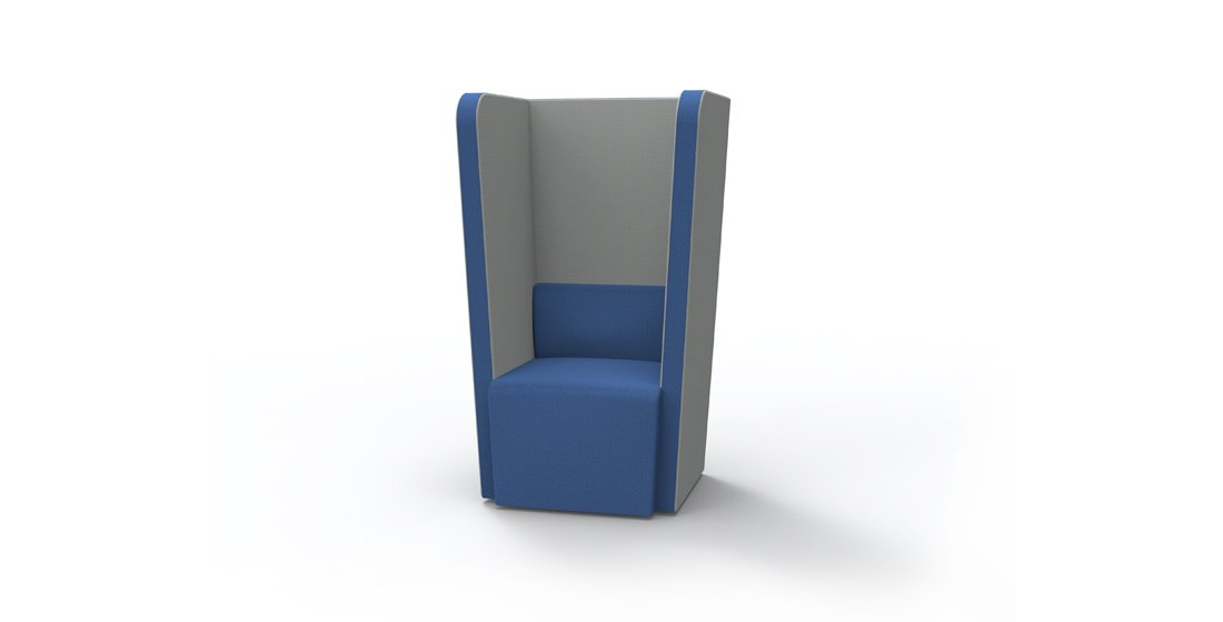 Citrus Seating Penelope High Back Chair Individual Office Seat