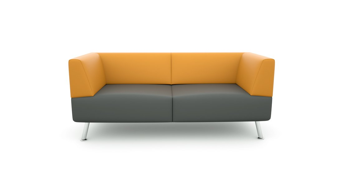 Citrus Seating Percy Two Seat Sofa Office Chairs