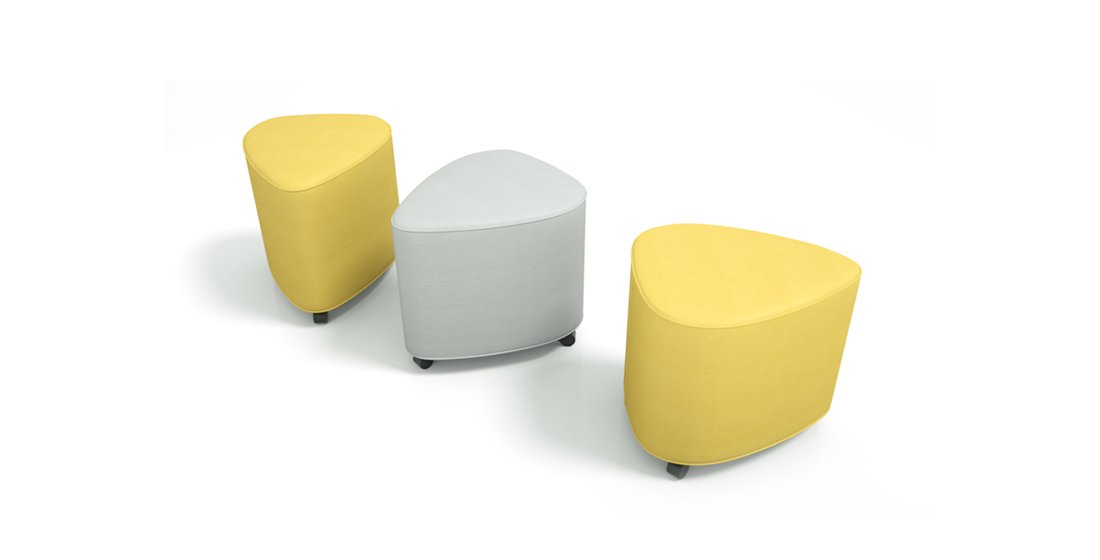 Citrus Seating Petal stools