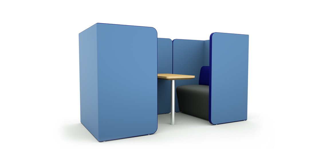 Citrus Seating Peter 2 Person Office Pod Work Space Booth