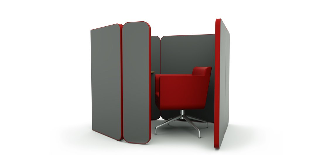 Citrus Seating Peter Office Pod Modular Booth Systems