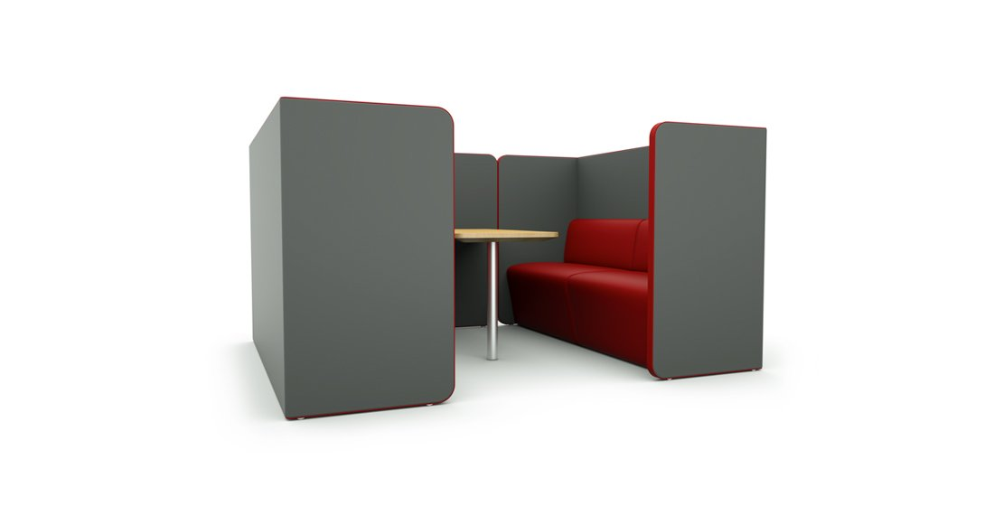 Citrus Seating Peter Office Pod Seating Booth Seating