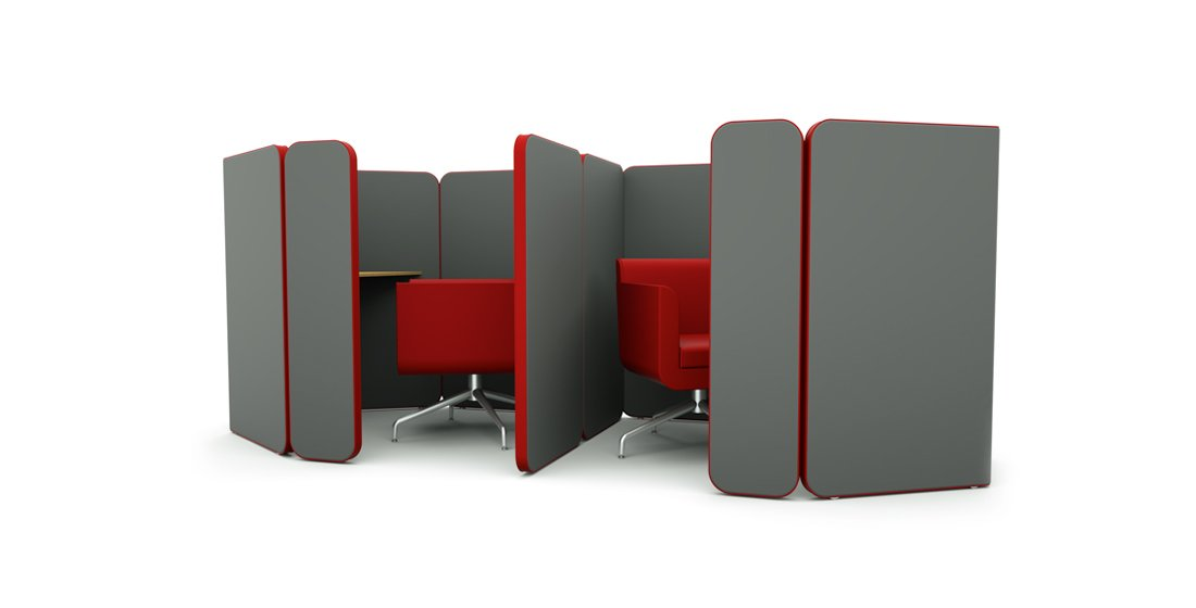 Citrus Seating Peter Individual Office Work Pods