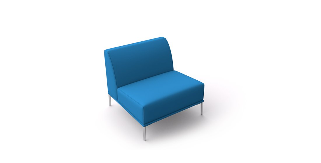 Citrus Seating Sienna chair with no arms