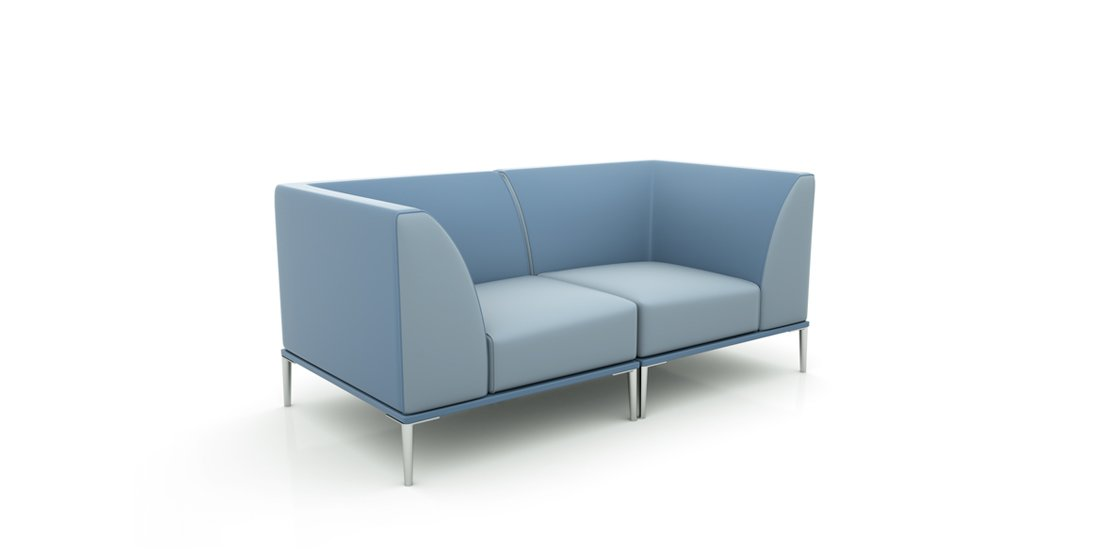 Citrus Seating Sienna seating system - corner sections combined
