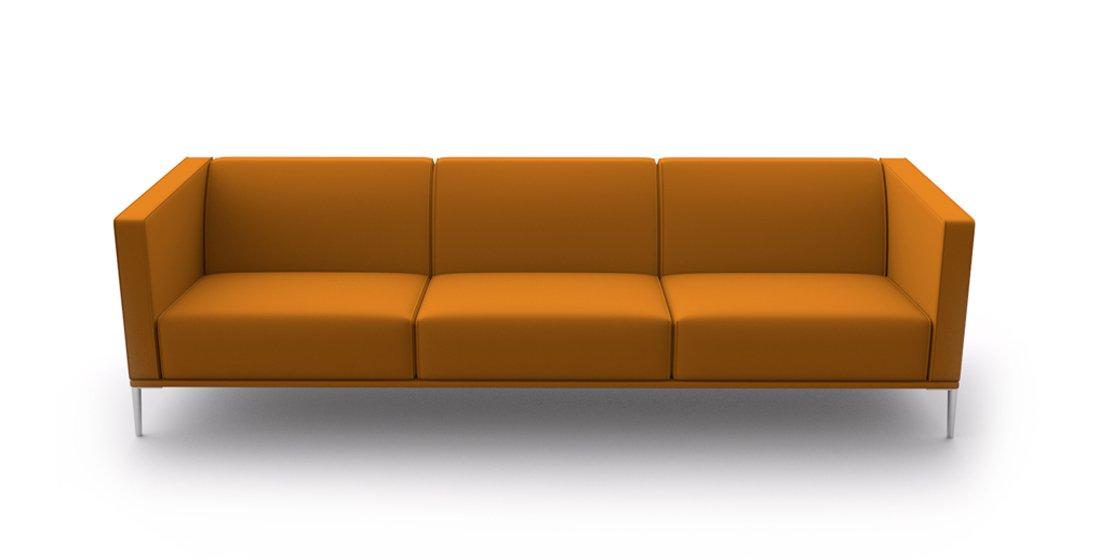 Citrus Seating Sienna 3 Seat Sofa Office Seating