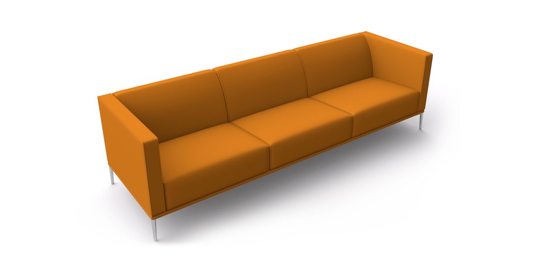 Citrus Seating Sienna three seat sofa