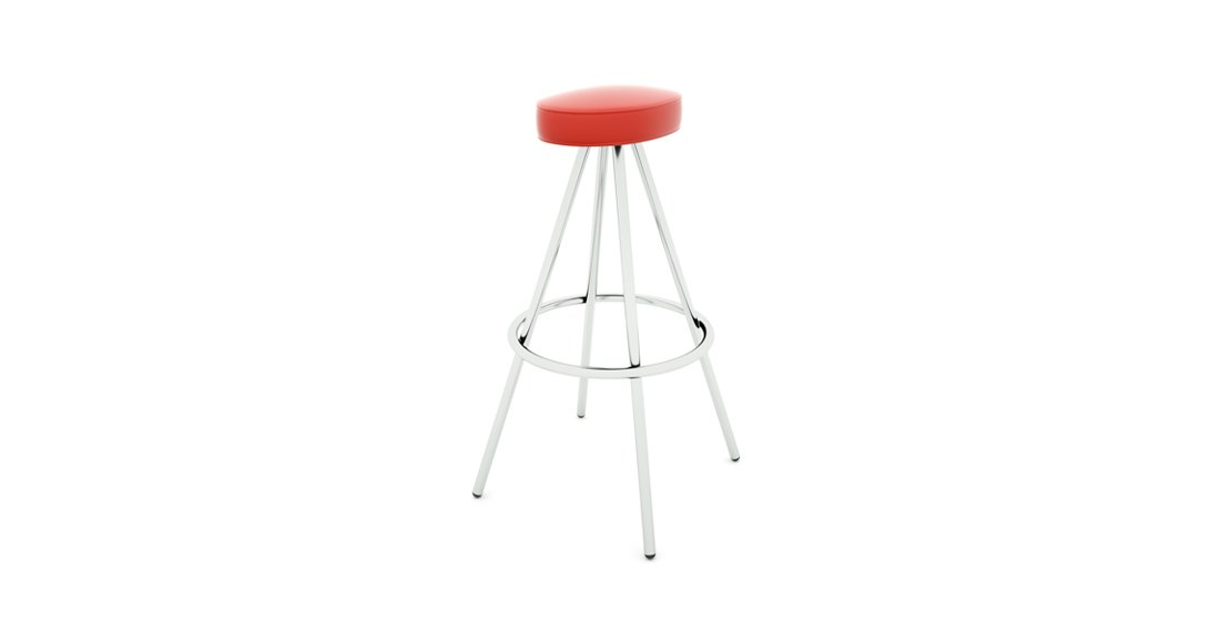 Citrus Seating Simon oval-seated stool