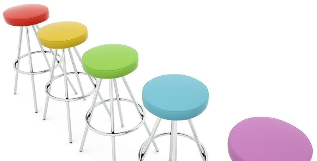 Citrus Seating Simon circular-seated stools