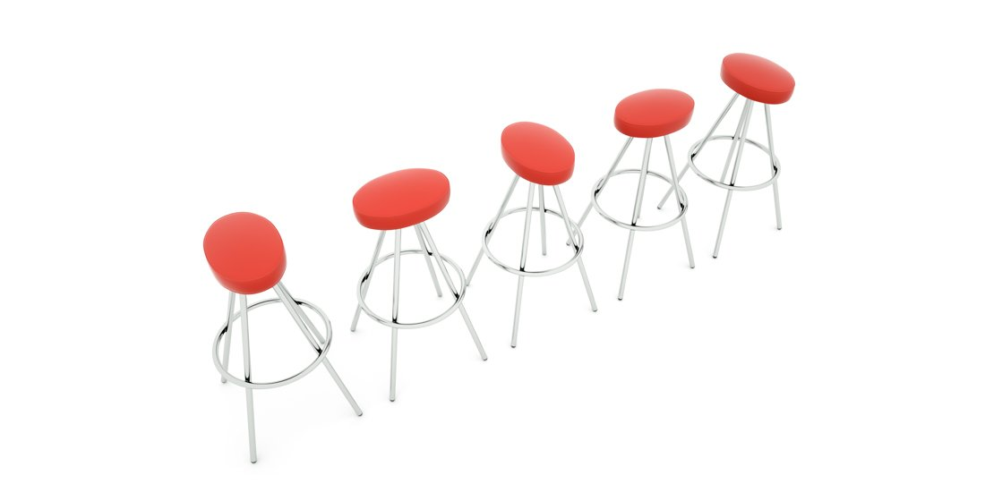 Citrus Seating Simon oval-seated stools