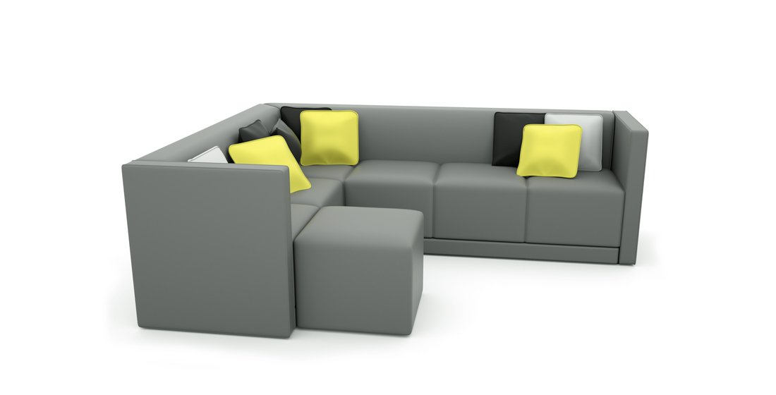 Citrus Seating Stuart Sofa Soft Office Modular Seating Systems