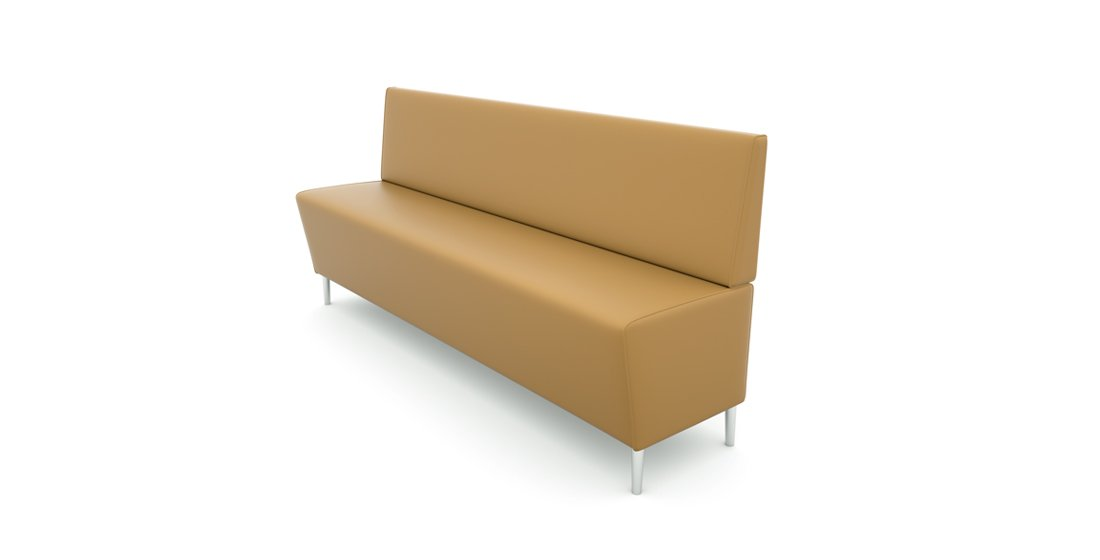 Citrus Seating Suzy Bench Seat with No Arms Soft Seating Bench
