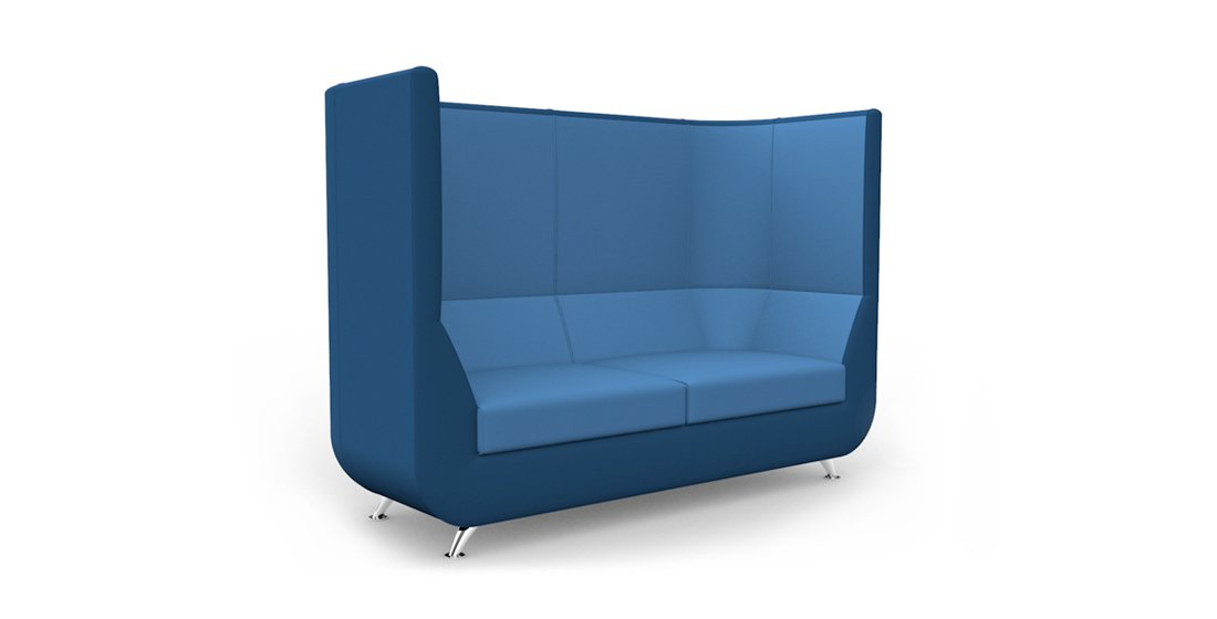 Citrus Seating Unity Curved High Back Sofa Office Furniture