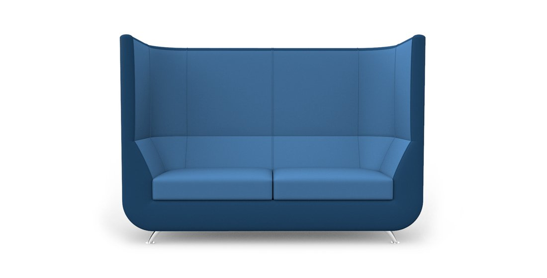 Citrus Seating Unity Curved High Back Sofa Soft Seating