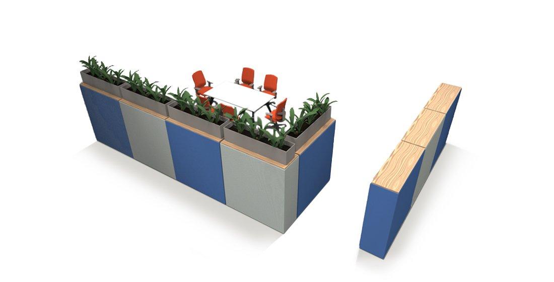 Citrus Seating Modular Furniture Wallace Wall Office Divider